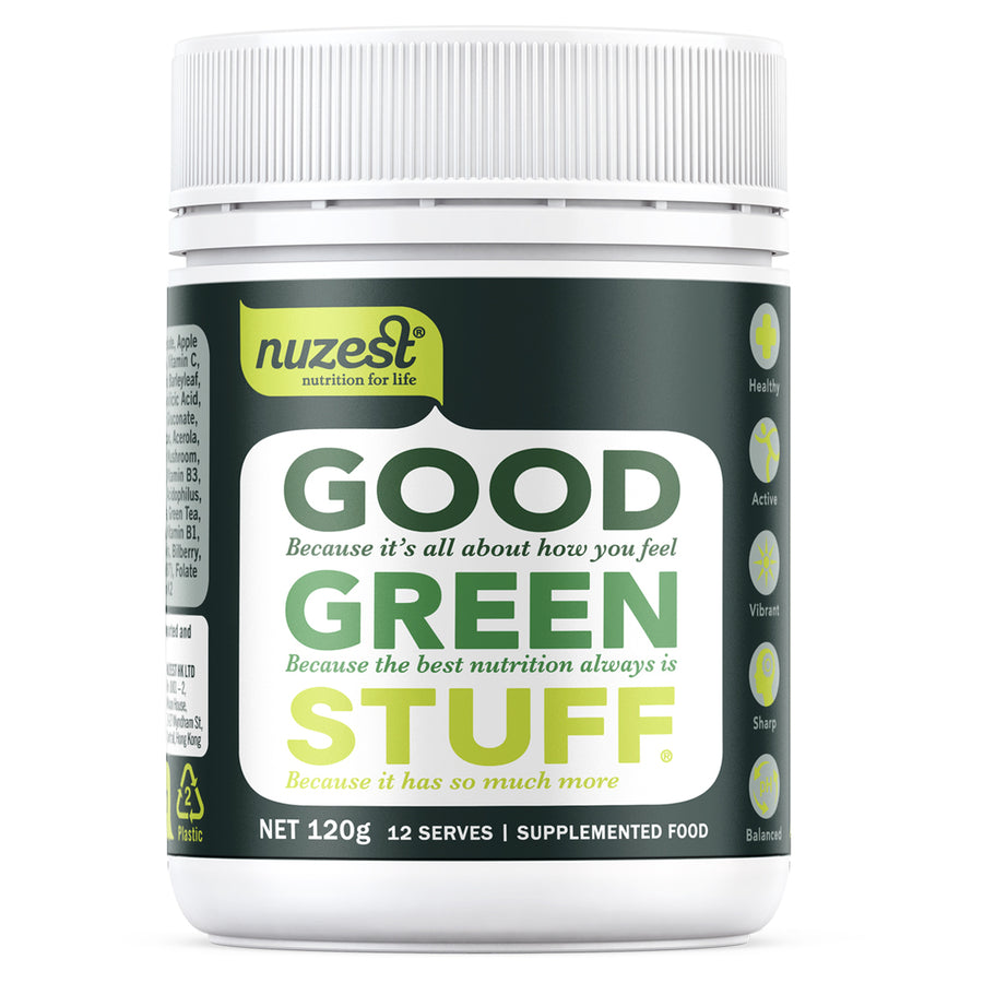Good Green Stuff 120g - NUZEST