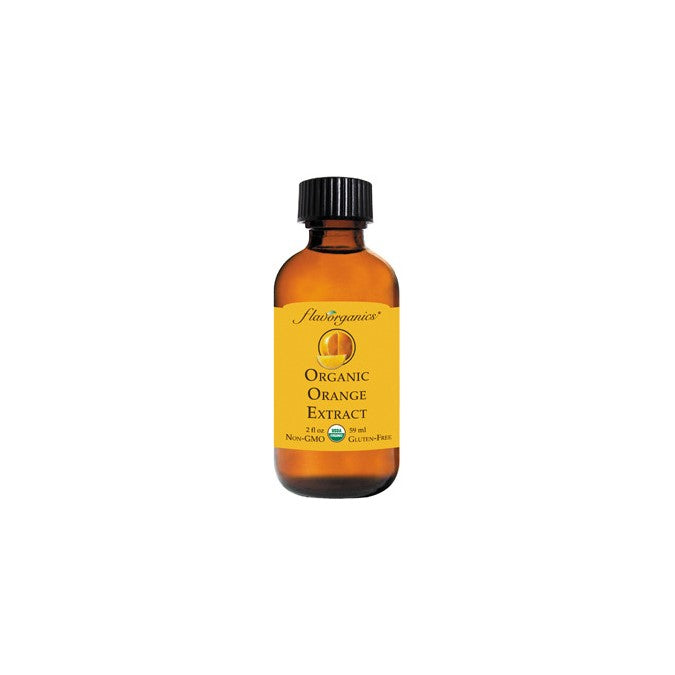 FL Organic Orange Extract 59ml - Flavorganics