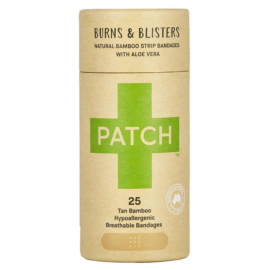 PATCH Adhesive Plaster Strip - Aloe Vera 25 pack