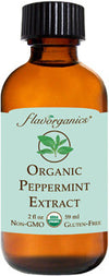 FL Organic Peppermint Extract 59ml - Flavorganics