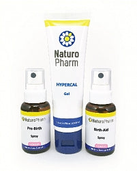 Naturo Pharm Maternity triple pack Spray & Gel