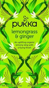 Pukka Lemongrass & Ginger Tea 20 Bag