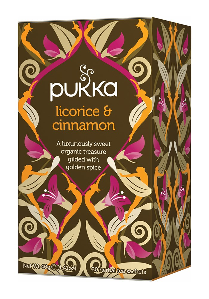 Pukka Licorice & Cinnamon Tea 20 Bag: