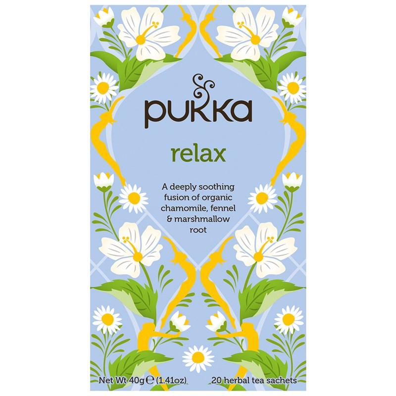 Pukka Relax Herbal Tea 20 Bag