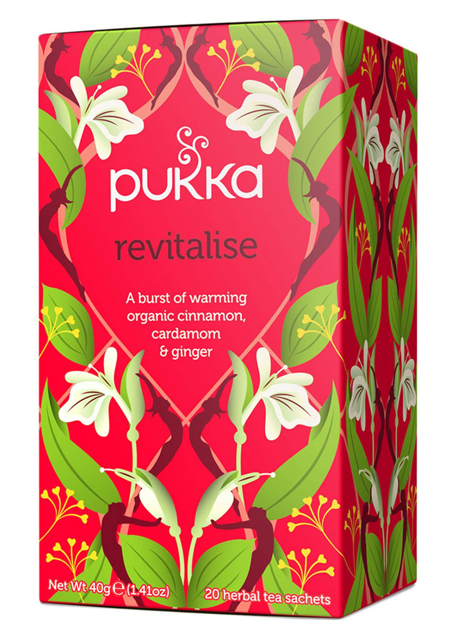 Pukka Revitalise Herbal Tea 20 Bag
