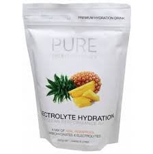PURE Hyd. Drink Pineap. 500g pouch