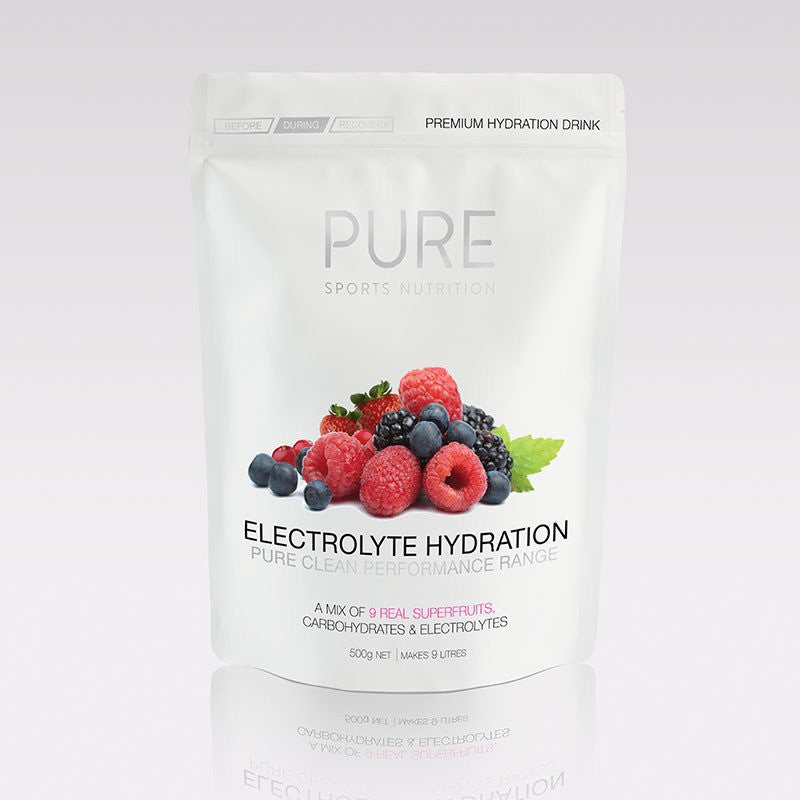 PURE Hyd. Drink S/Fruits 500g pouch