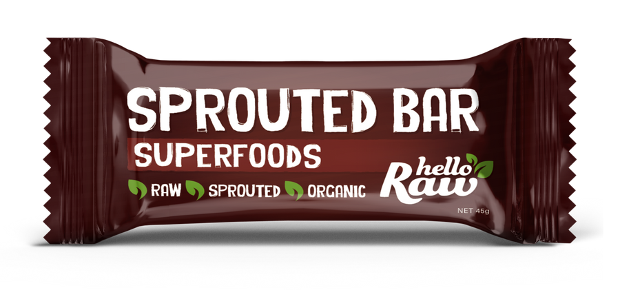 Natava Hello Raw Sprouted Bar Superfood 45g