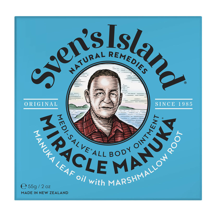 Sven Island - Miracle Manuka 17gm - Medi-Salve All Body Ointment