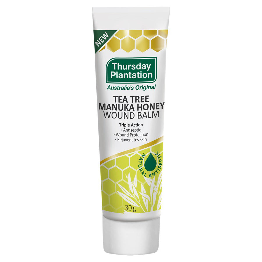 Thursday Plantation  Tea Tree & Manuka Honey Wound Balm 30g