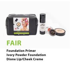 Zuii Beauty sets FAIR - 3 piece
