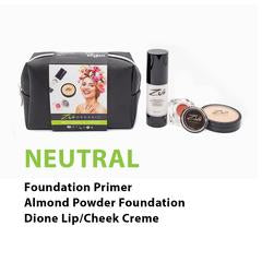 Zuii Beauty sets NEUTRAL - 3 piece