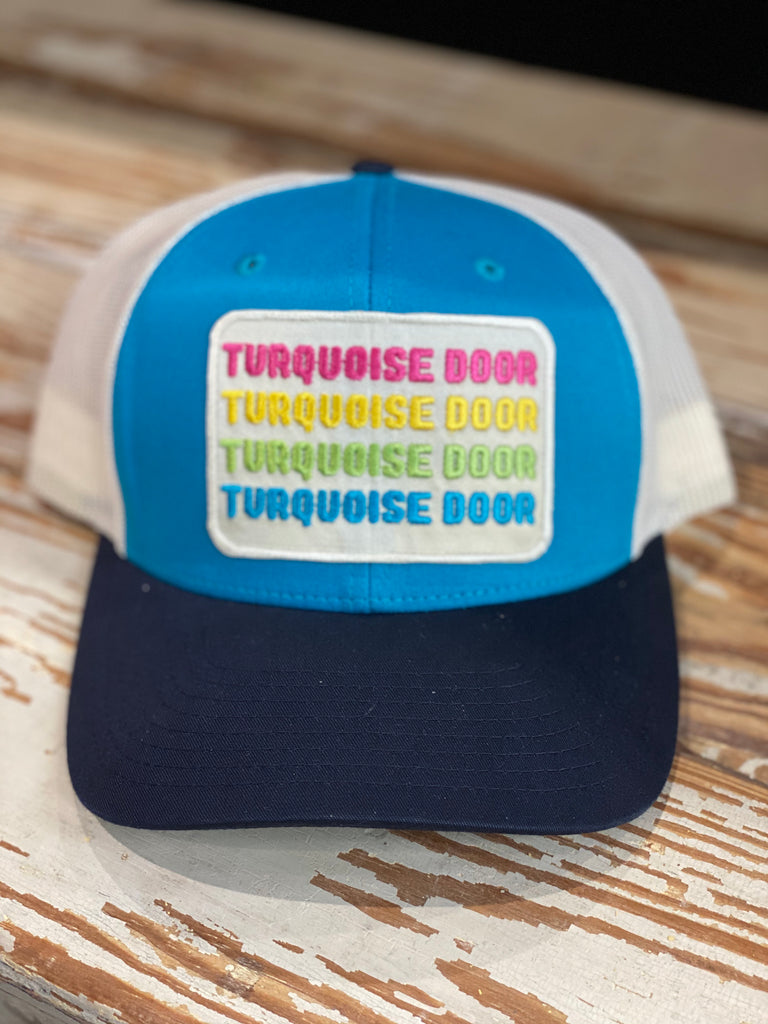 TURQUOISE TD HAT