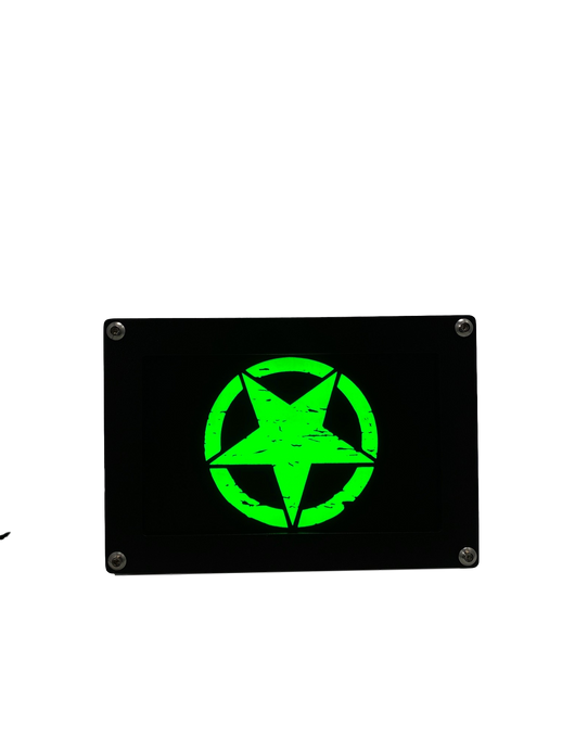 JEEP Star LED  Hitch Cover