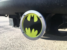 Batman Round Reflective Hitch Cover