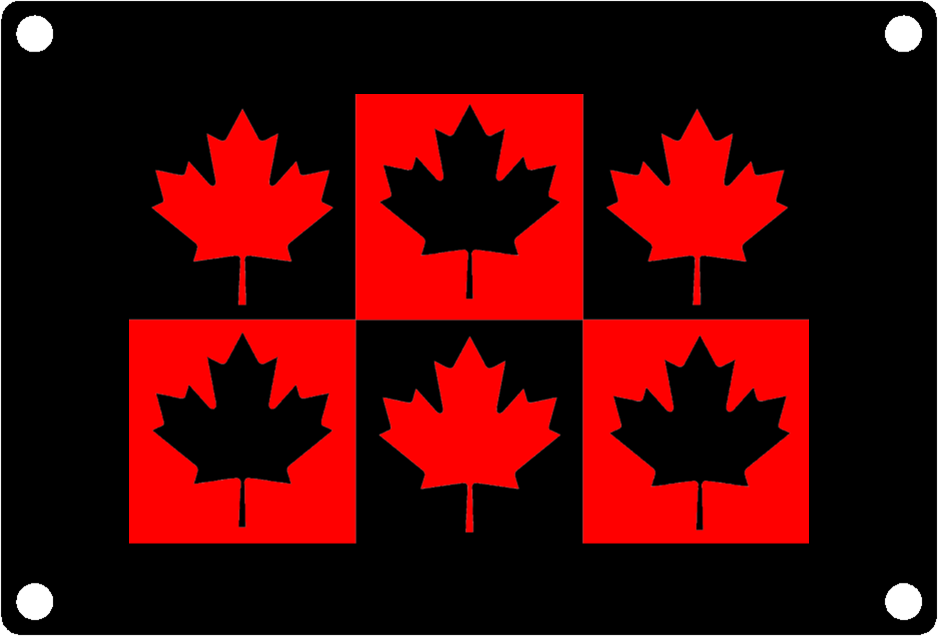 Canadian 6 Maple Leaves
