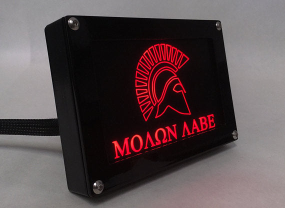 Custom Light Up Hitch Cover Assembly
