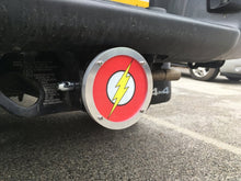 Flash Round Reflective Hitch Cover