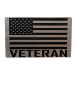 Veteran Flag Vehicle Magnet