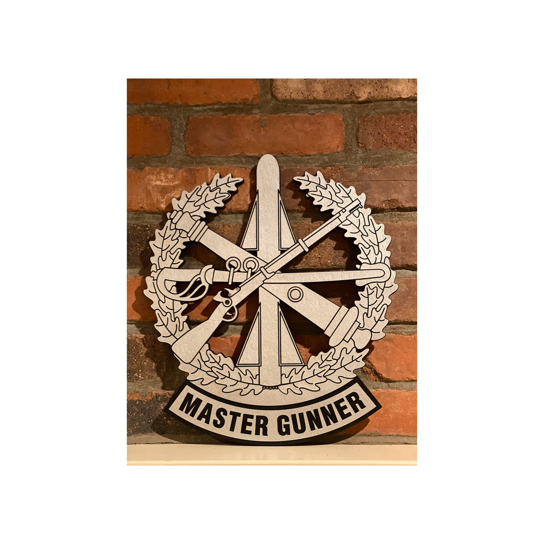 Master Gunner Badge, Field Artillery