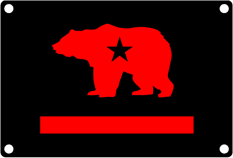 California State Flag Modern