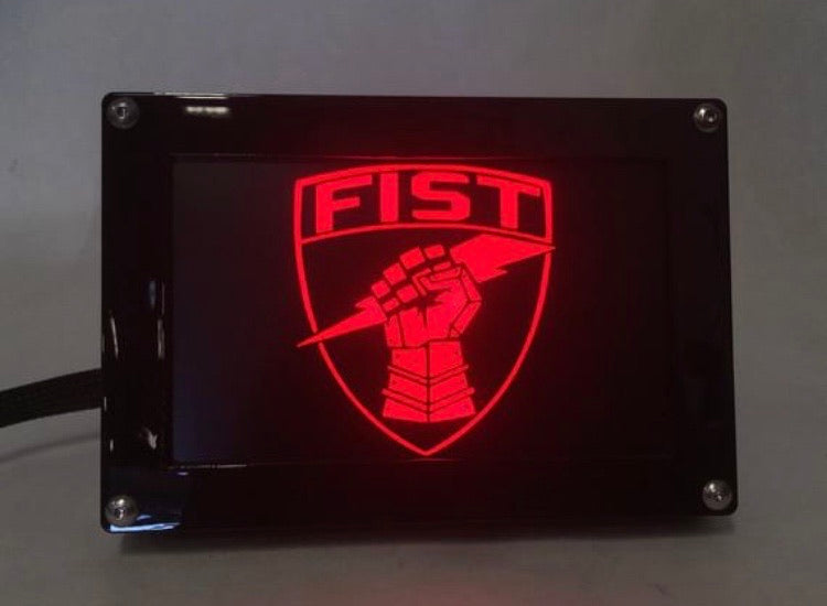 FIST LED Hitch Cover Base with Matte Border