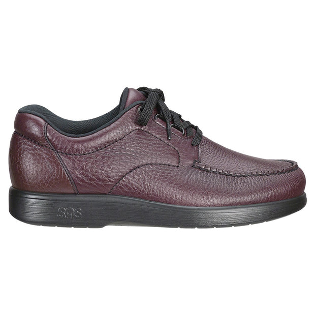 sas mens diabetic wide shoe bout time cordovan