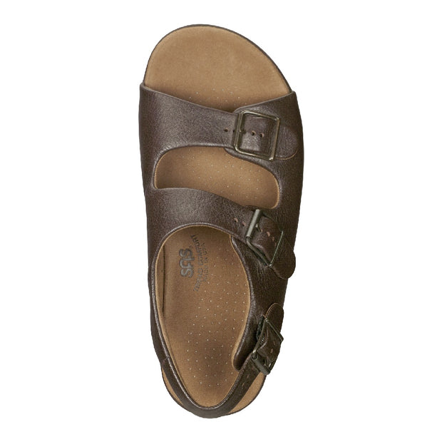 sas mens sandal bravo brown