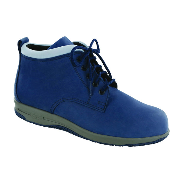 sas boot gretchen navy light blue