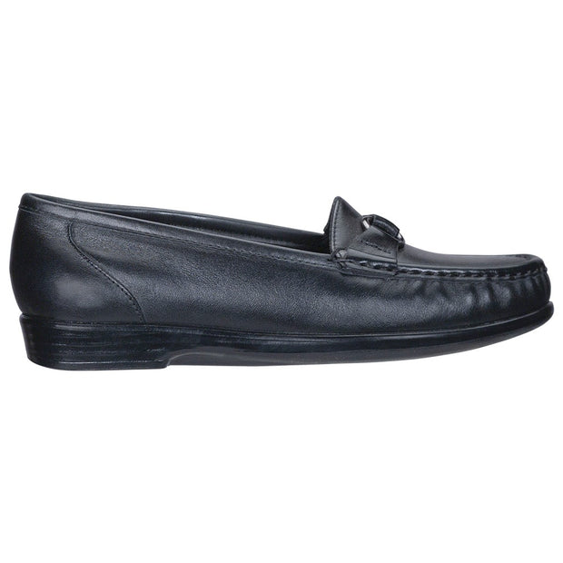sas womens comfort loafer jewel black