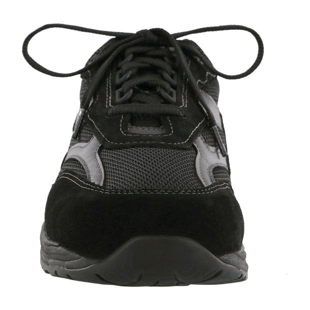 sas mens sneaker journey mesh black