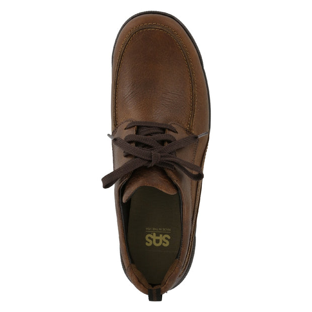 sas mens shoe move on brown