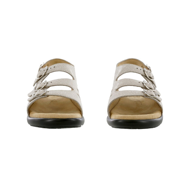 sas womens beige sandal with backstrap mystic