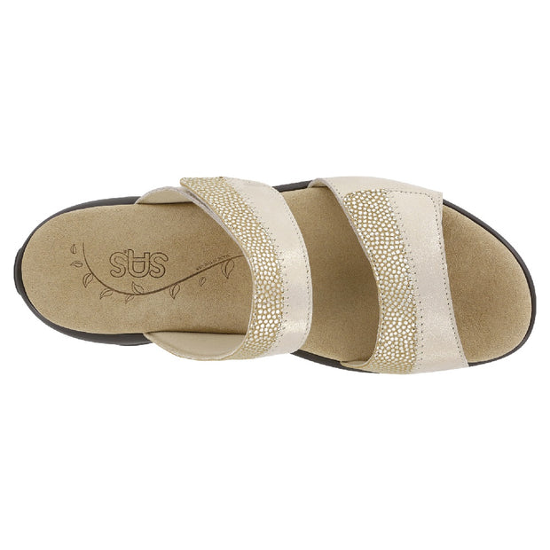 sas womens comfort sandal nudu slide golden