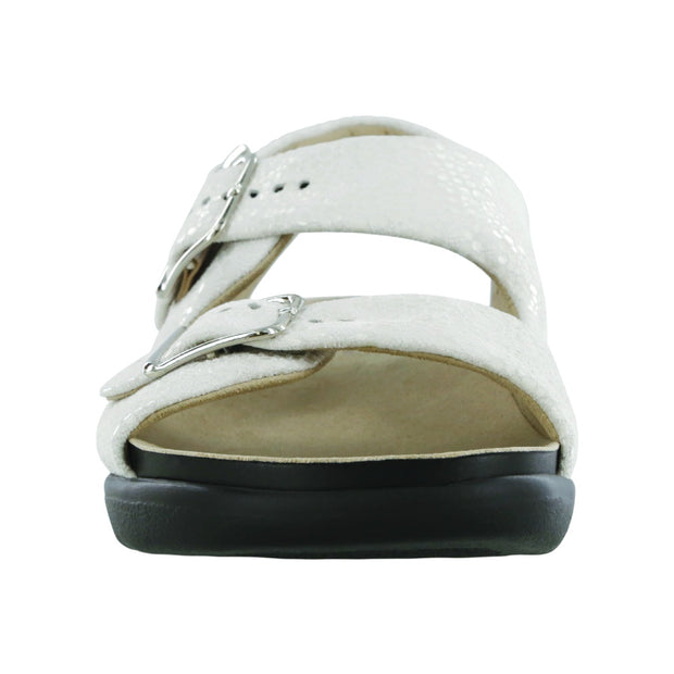 sas womens wide walking sandal relaxed vanilla