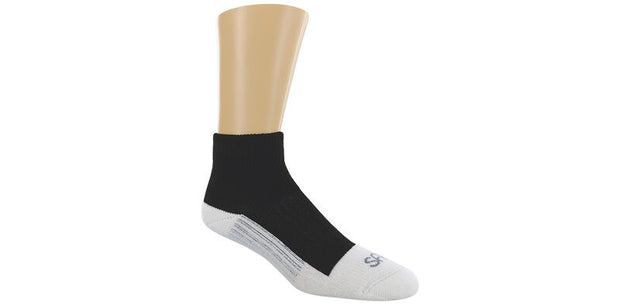 SAS Diabetic QTR Crew Socks