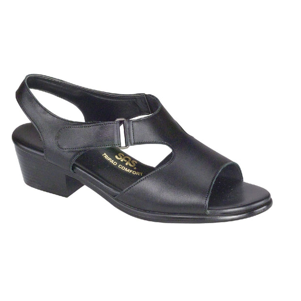 sas womens comfort dress sandal suntimer black