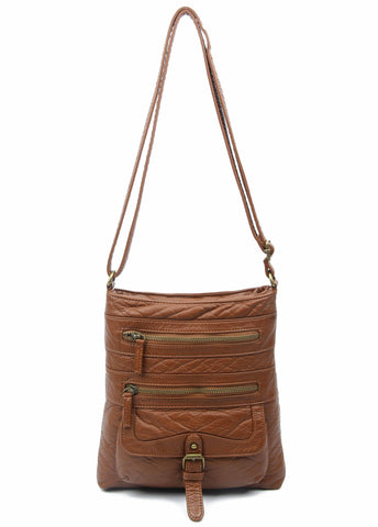 The Danni Crossbody - Brown