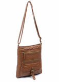 The Danni Crossbody - Brown - Ampere Creations