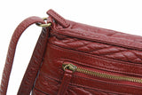 The Danni Crossbody - Burgundy - Ampere Creations