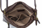The Danni Crossbody - Chocolate Brown