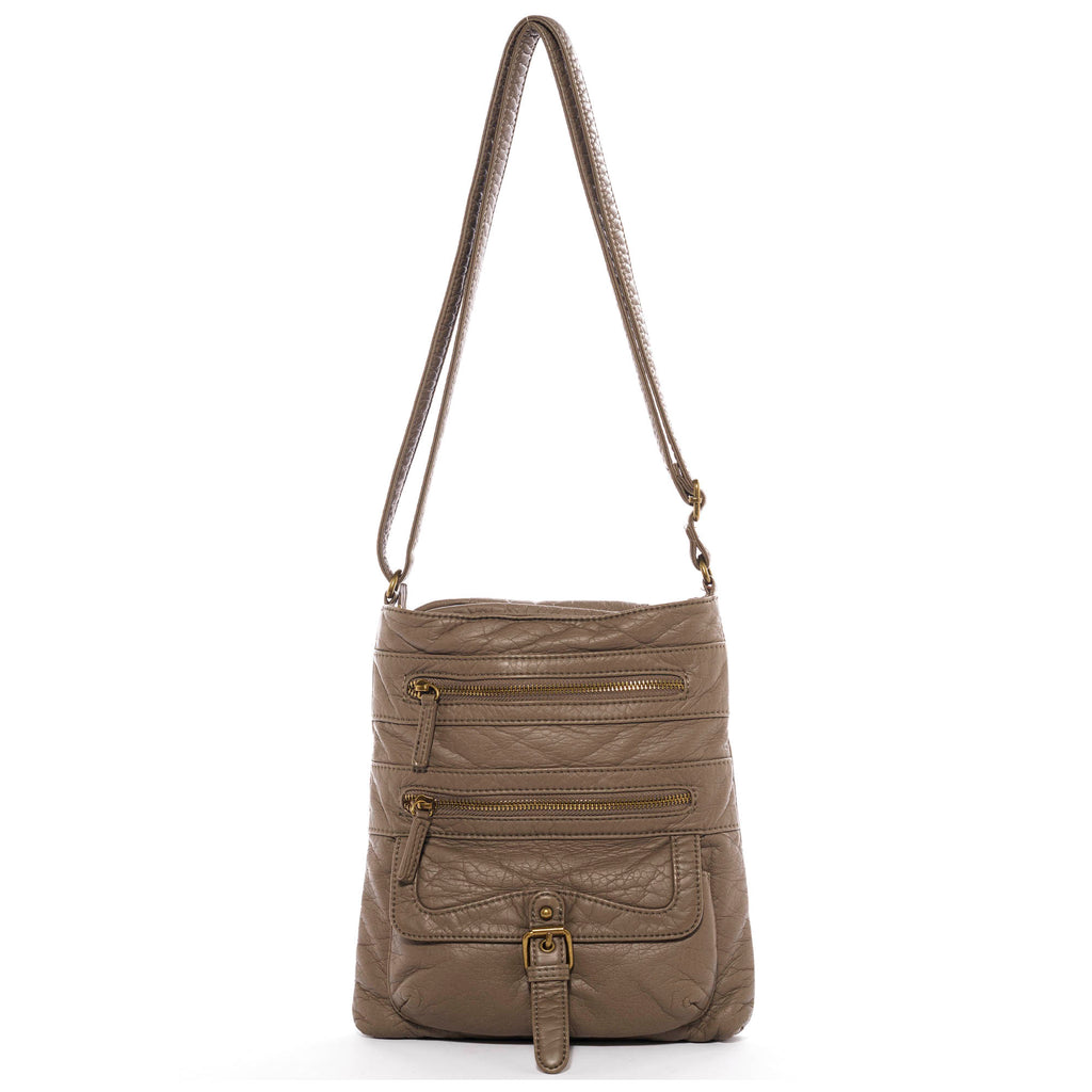 The Danni Crossbody - Dark Grey - Ampere Creations