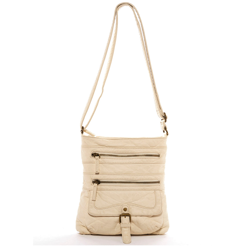 The Danni Crossbody - Taupe - Ampere Creations