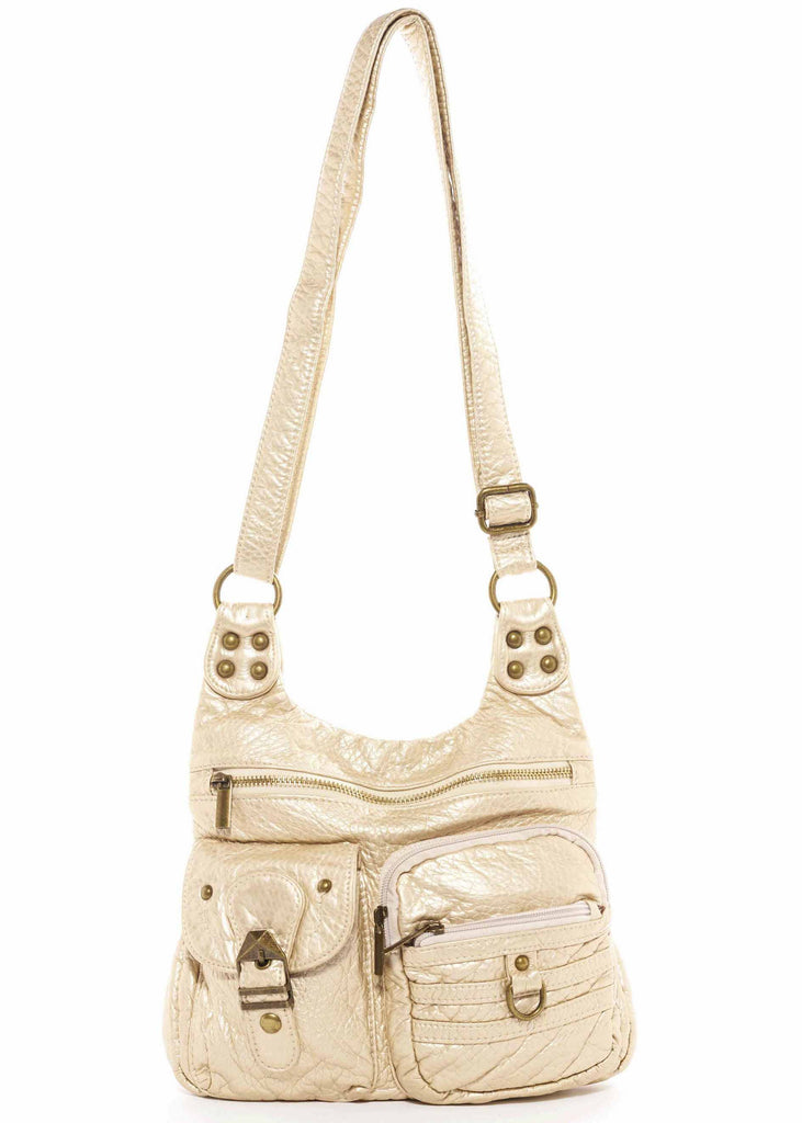 The Aria Crossbody - Champagne