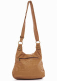 The Aria Crossbody - Light Brown - Ampere Creations