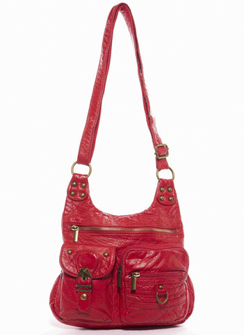 The Aria Crossbody - Red