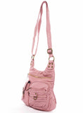 The Aria Crossbody - Rose Pink - Ampere Creations
