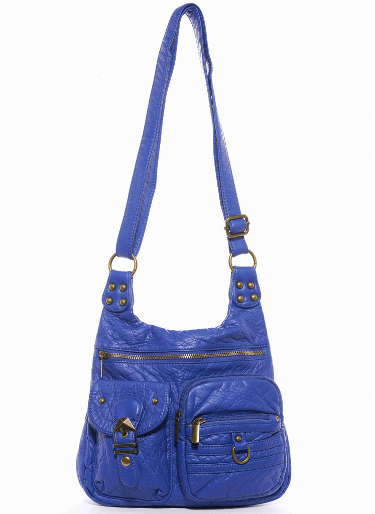 The Aria Crossbody - Royal Blue