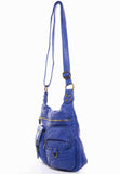 The Aria Crossbody - Royal Blue - Ampere Creations