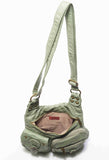 The Aria Crossbody - Seafoam Green - Ampere Creations